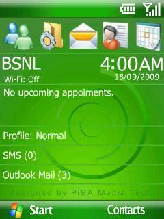 java themes with tone download winmo green wid tone theme nokia theme mobile
