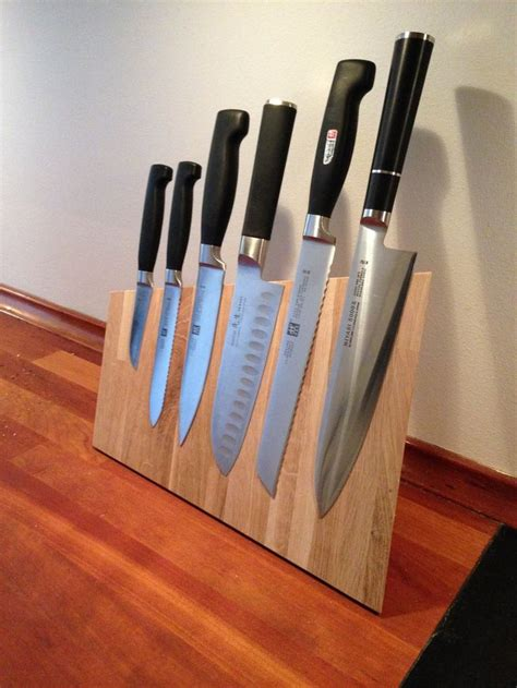 magnetic knife block for the home knife