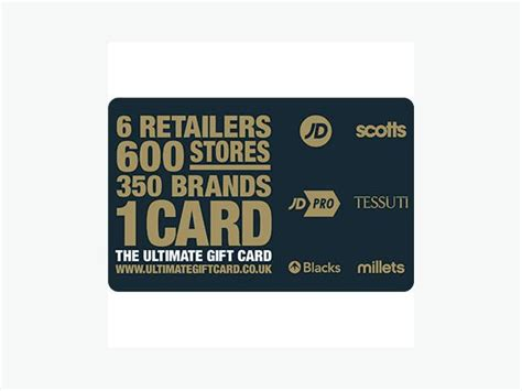 Gift Card Ad - jd gift card wednesfield sandwell
