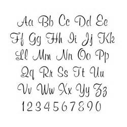stencils alphabet stencils script lettering stencils
