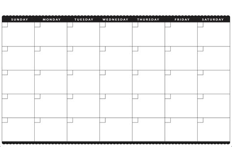 11x17 Printable Calendar | 11x17 printable calendar calendar template 2016