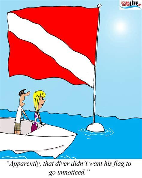 boat dive flags 22 best images about scuba diving cartoons on pinterest