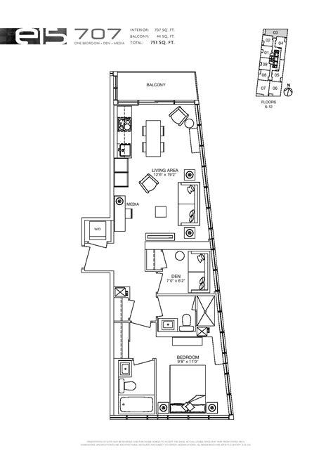 Condos Toronto Floor Plans - new condo floor plans toronto on