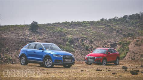 audi q3 petrol or diesel 2017 audi q3 30 tfsi and 35 tdi quattro road test review