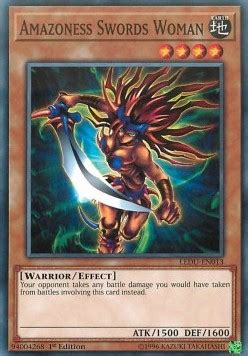 Yugioh Legendary Duelists Booster Ledu En amazoness swords yugioh card legendary duelists