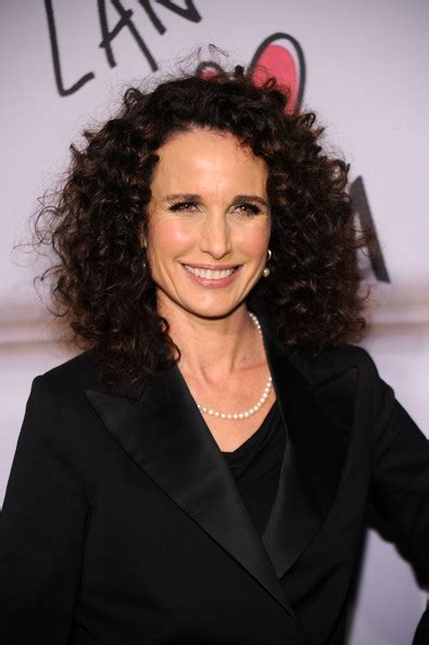 most attractive hairstyles for women over 60 with curly andie macdowell the 50 most beautiful women over 50
