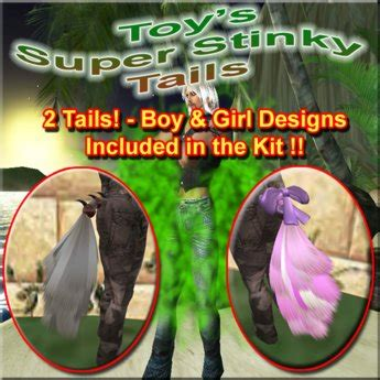 second life marketplace fart tails toys super stinky