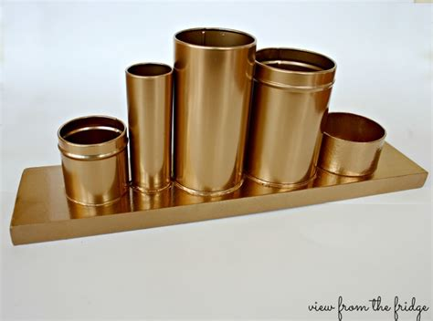 gold desk organizer gold pencil holder anthro knock 4 view from the