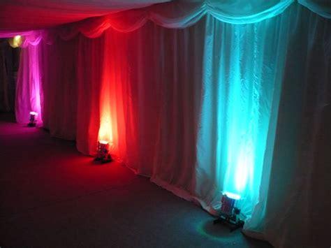 Light Up Light Up by Uplighting Backdrop Monograms Calgary Audio Visual And