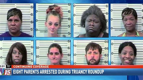 Mobile County Records Eight Mobile County Parents Arrested During Truancy Roundup Wpmi