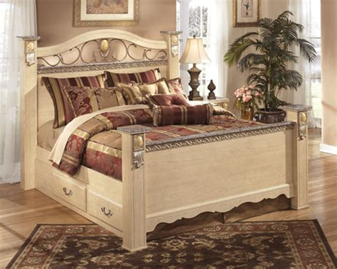 sanibel bedroom collection sanibel poster bedroom set by ashley furniture ebay