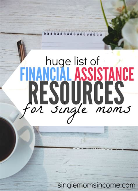single mom housing financial assistance for single moms