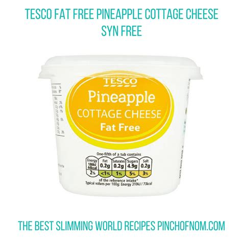Free Cottage Cheese Tesco by New Slimming World Shopping Essentials 24 3 17 Pinch