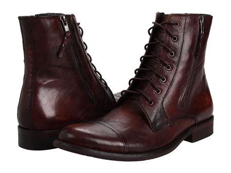 kenneth cole reaction hit boot kenneth cole reaction hit brown leather zappos
