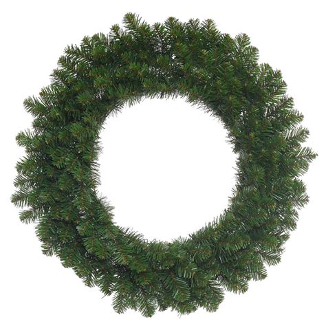 vickerman 48 inch unlit teton double sided wreath