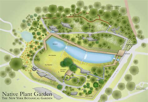 Garden Wayfinding Maps On Behance New York Botanical Garden Directions