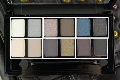 Maybelline The Rock Original maybelline the rock eyeshadow palette review swatch and review