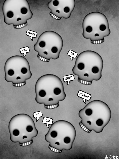 emoji skull wallpaper image result for skull emoji transparent hipster pinterest