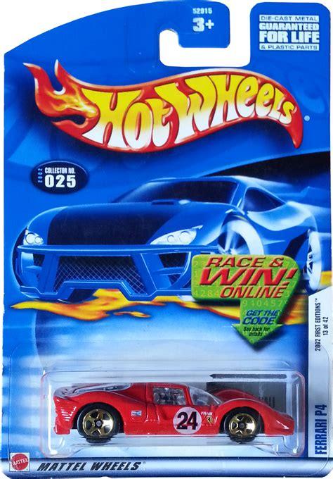 Wheels P4 2002 Editions 13 Of 42 p4 model racing cars hobbydb