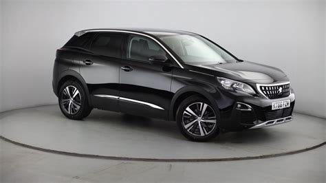 peugeot 3008 2017 black peugeot coventry used cars garage dealers