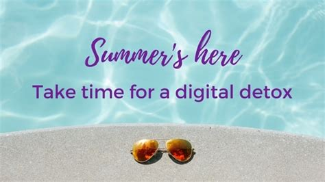 Digital Detox For Students by 5 Ways To Do A Digital Detox This Summer Got2jot