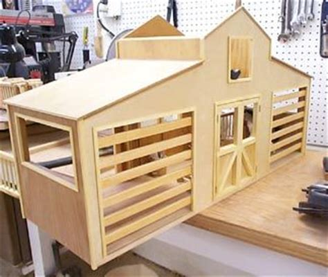 toy horse barn plans plans diy   toddler bed