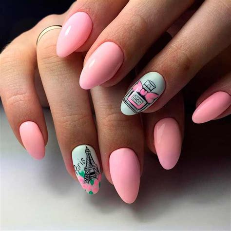 nail design ideas instagram brilliant pink acrylic nails to try naildesignsjournal com