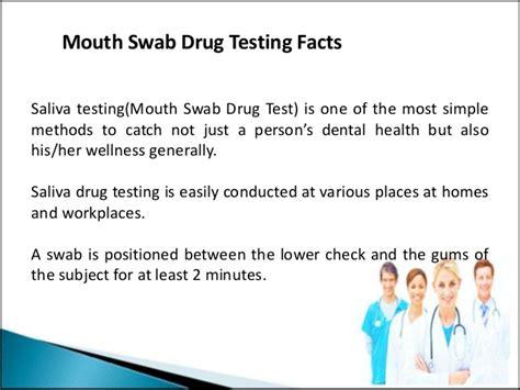 swab test a swab test also known as a saliva test