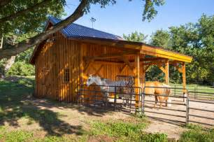 Horse Barn Small In Size Large In Character Farmhouse