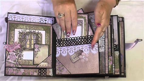 mini scrapbook tutorial youtube mini album youtube