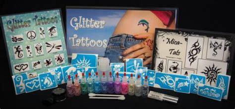 tattoo kits under 20 dollars glitter tattoo kit tattoo collections