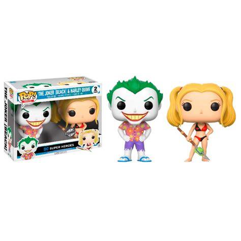Murah Funko Pop Heroes Dc Universe The Joker 6 funko pop dc comics joker y harley quinn en la playa