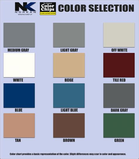 lowes paint color chart