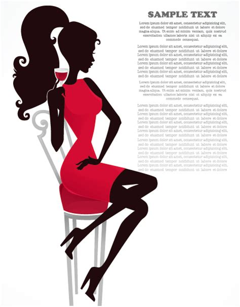 Home Design Download For Android Fashion Beauty Silhouette 01 Vector Over Millions