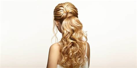 Prom Hairstyles Half Up by Prom Hairstyle Ideas For Medium And Hair Matrix