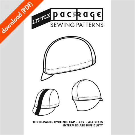 welding hat pattern pdf 3 panel cycling cap pdf sewing pattern little package