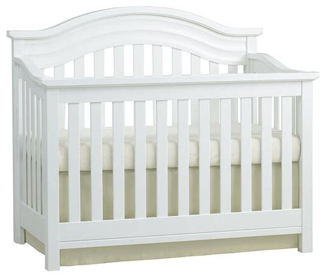 White Convertable Crib Baby Cache Riverside Lifetime Convertible Crib White Transitional Cribs By Toys R Us