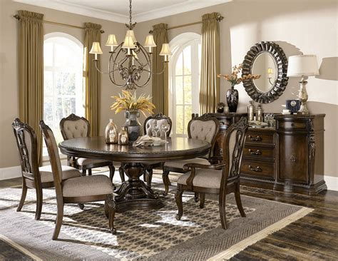homelegance 1935 76 bonaventure park formal dining room
