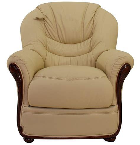 cream leather armchair sale florence genuine italian sofa armchair cream leather