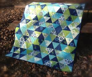 triangle quilt the sassy quilter