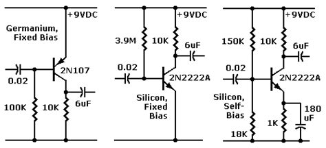 germanium transistor bias redesign germanium transistor circuits part 3
