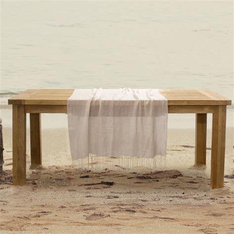 tavoli legno rustici tavolo pranzo legno rustico etnico outlet mobili legno teak