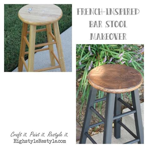 Painted Wooden Stools by 25 Best Ideas About Black Chalk Paint On File