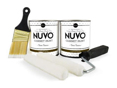 nuvo cabinet paint cocoa couture nuvo cocoa couture cabinet paint kit giani inc