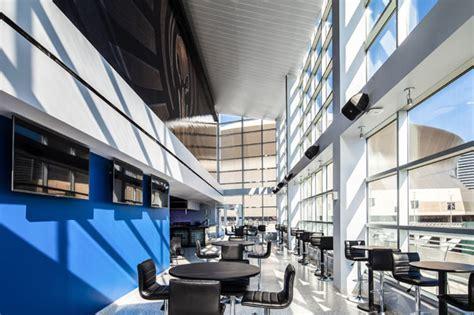 smoothie king center hunter douglas architectural