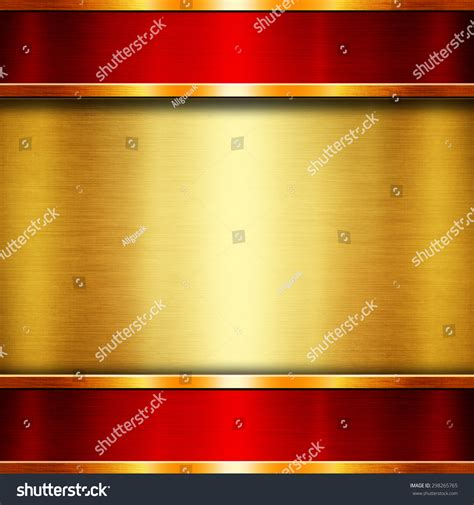 abstract gold background glossy shiny red stock