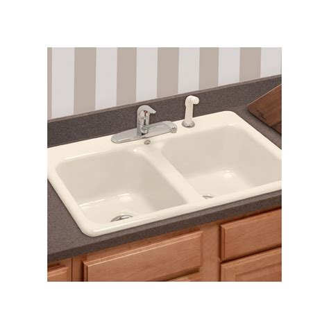 eljer kitchen sinks faucet 2121089 96 in biscuit by american standard