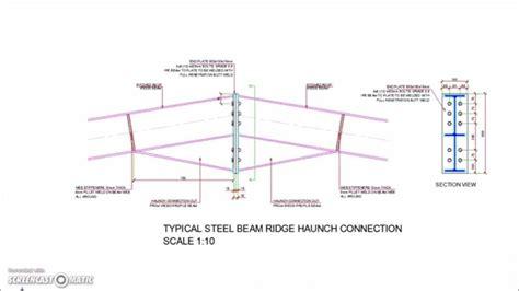 portal frame design youtube steel haunch gallery