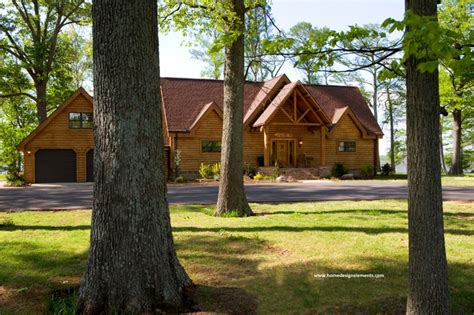 home design elements llc log home caldwell traditional exterior other by