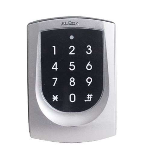 Panel Alarm Albox Controller Built In Reader With Illuminated Touch Panel